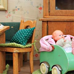baby and children wood toys dolls houses
